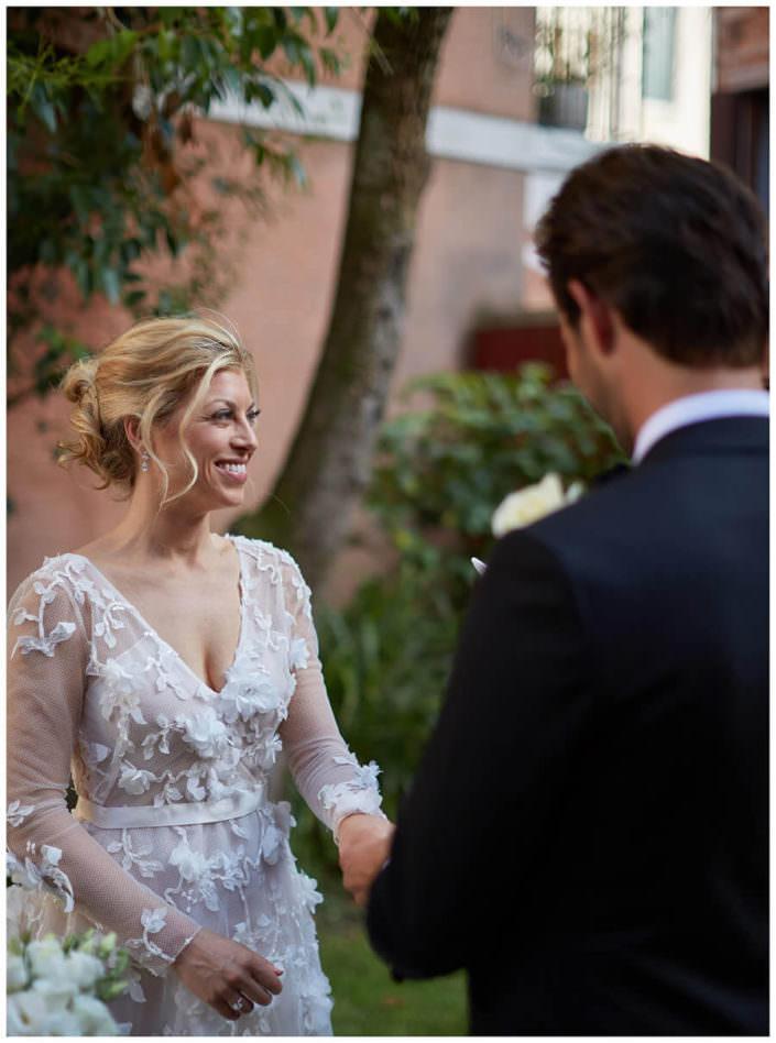 ritratto sposa cerimonia