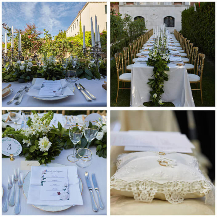 dettagli ricevimento Matrimonio Ca Nigra Hotel Venezia