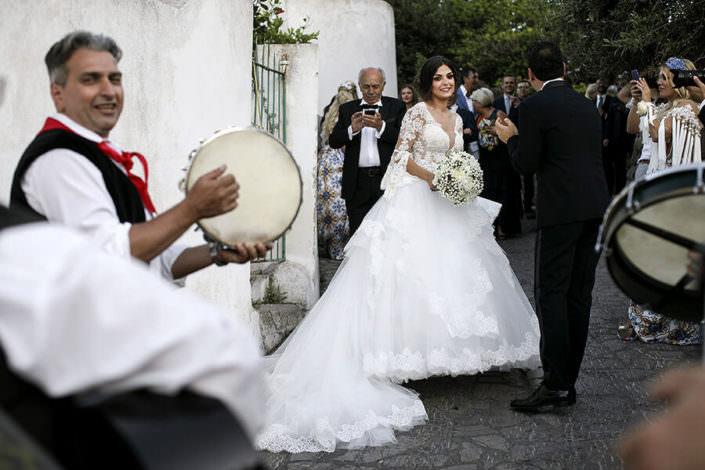 Matrimonio Hotel Lisca Bianca a Panarea