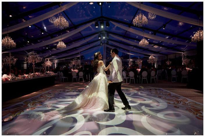 ballo sposi Matrimonio Jw Marriot Venezia