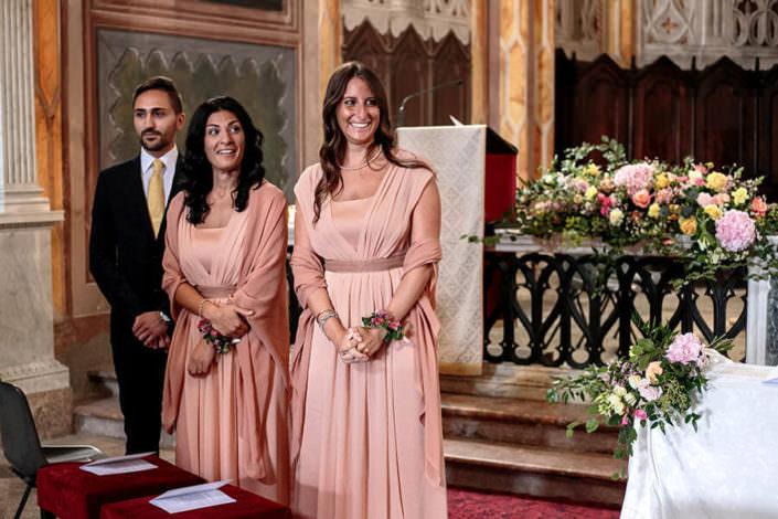 Damigelle Cerimonia matrimonio