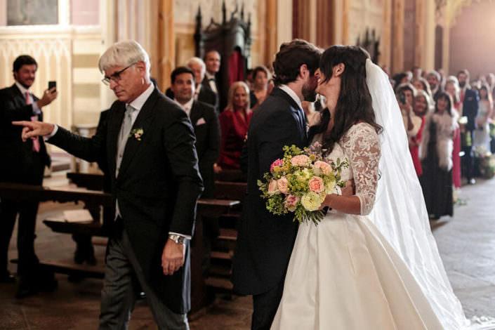 Ingresso della sposa cerimonia