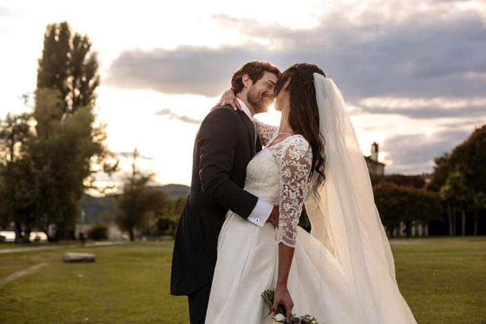 Foto in posa sposi
