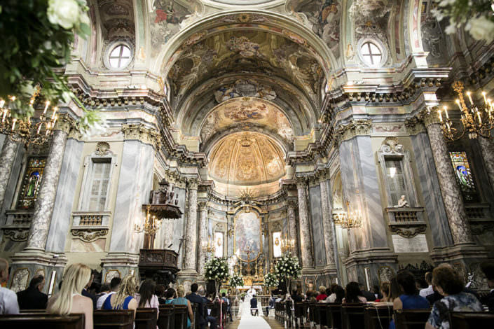 Panoramica chiesa Matrimonio