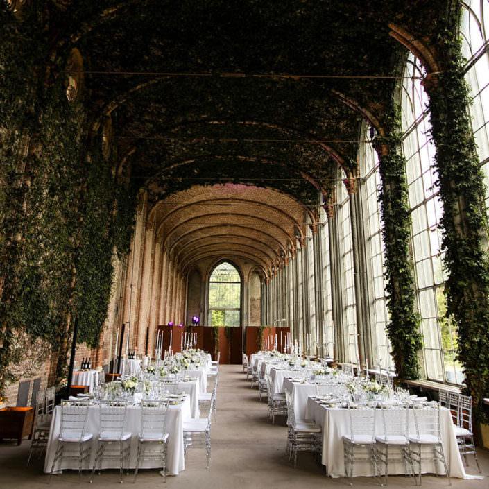 Matrimonio Serre Racconigi allestimenti floreali