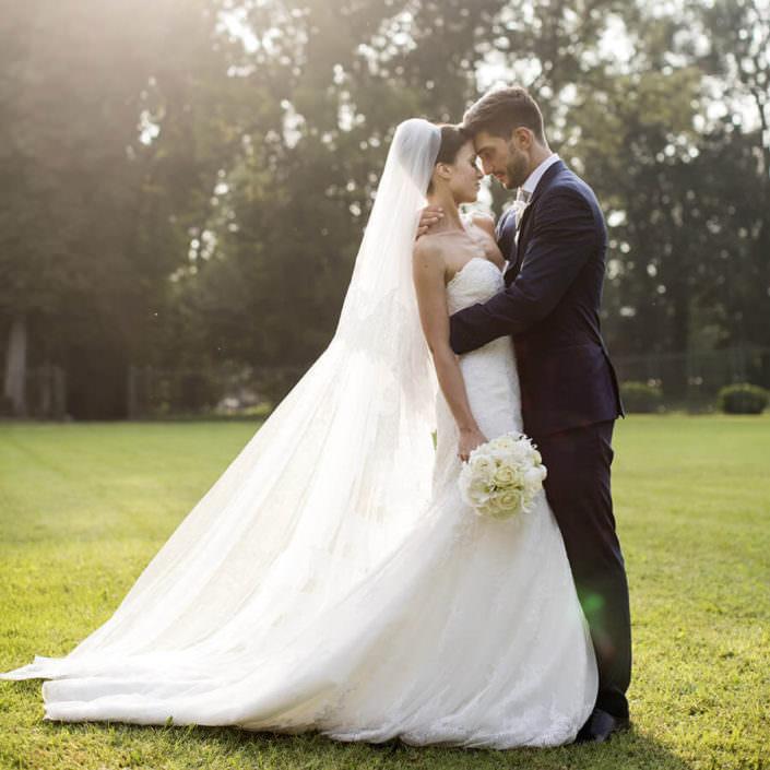 Matrimonio Serre Racconigi Ritratto Sposi