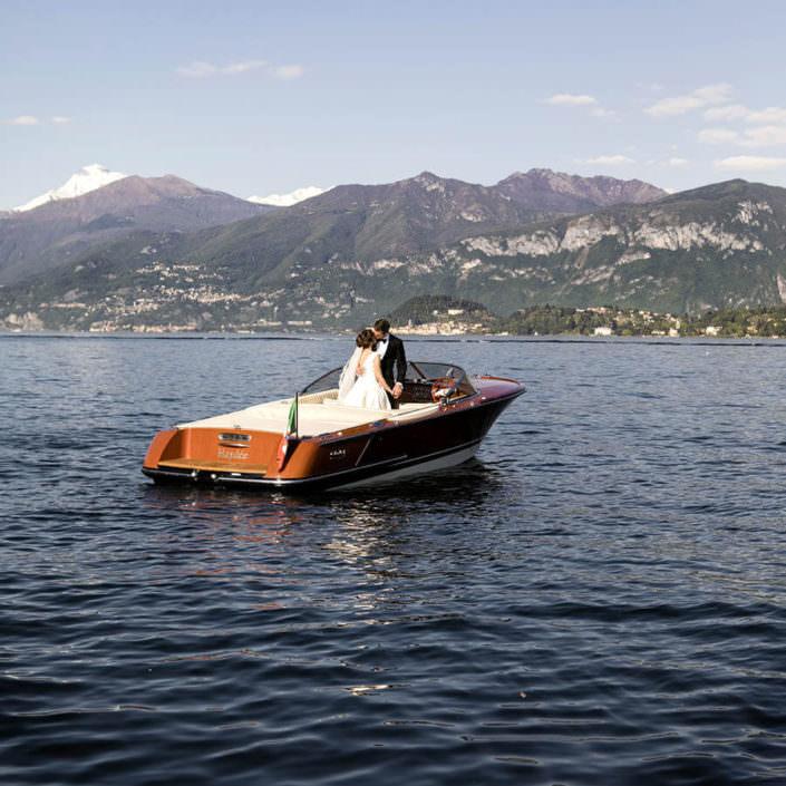 Matrimonio Villa Balbianello Motoscafo lago di comò