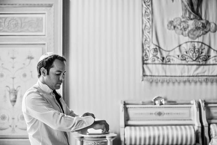 Preparativo Sposo Matrimonio Ebraico