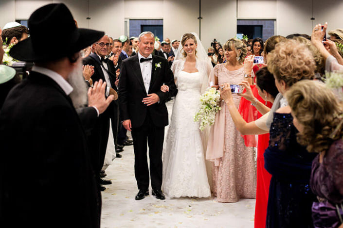 Ingresso sposa in cerimonia