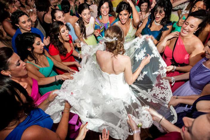 Matrimonio Villa Erba sposa con amiche