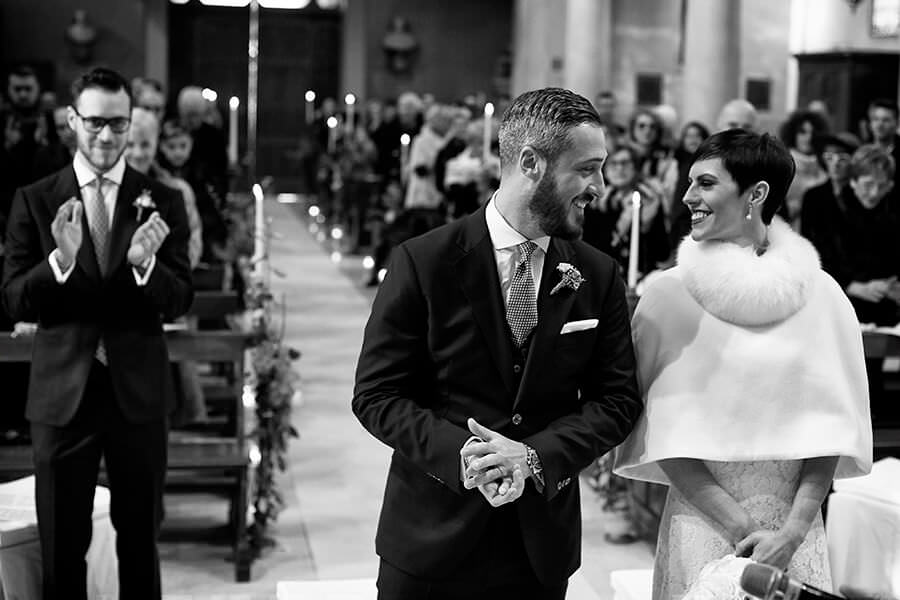 Cerimonia matrimonio invernale