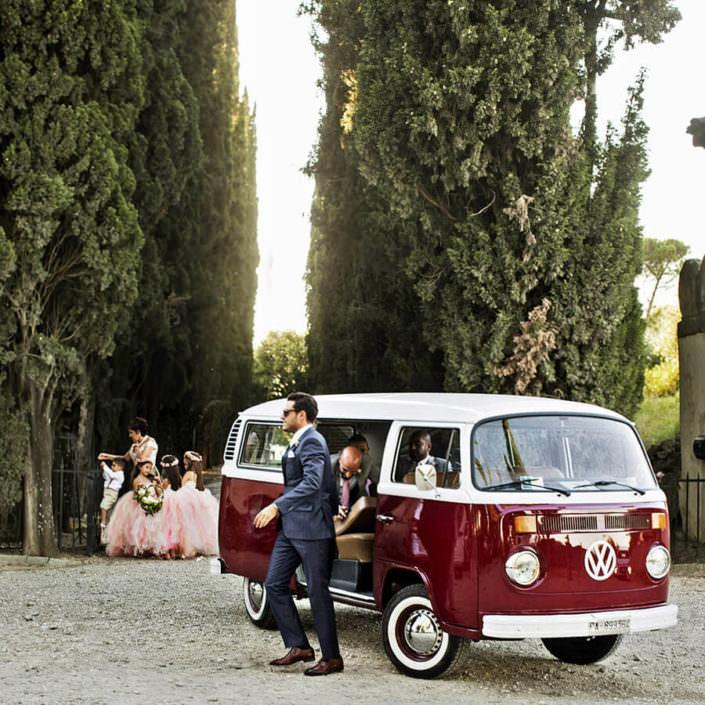 Villa i Collazzi furgone vintage