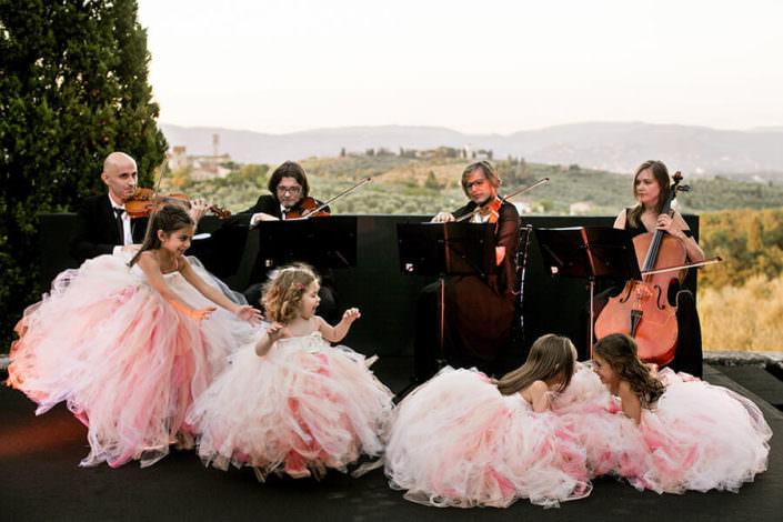 Villa i Collazzi bambini matrimonio