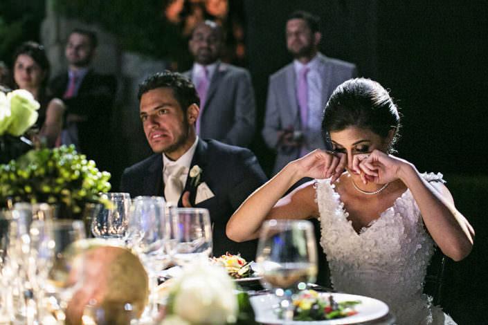 Villa i Collazzi sposa emozionata