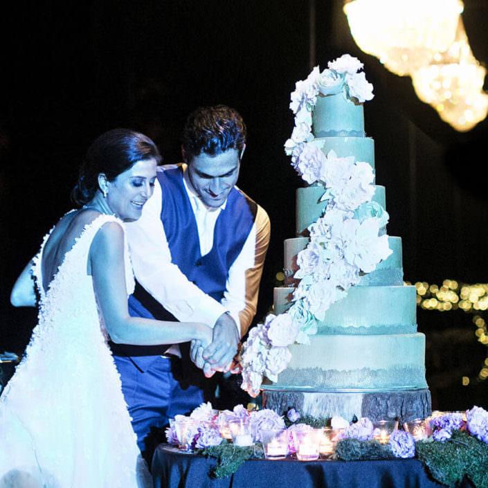 Villa i Collazzi taglio torta