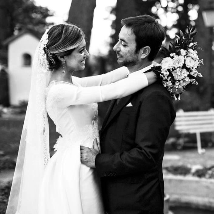 ritratto sposi Matrimonio Villa Pietra Bianca