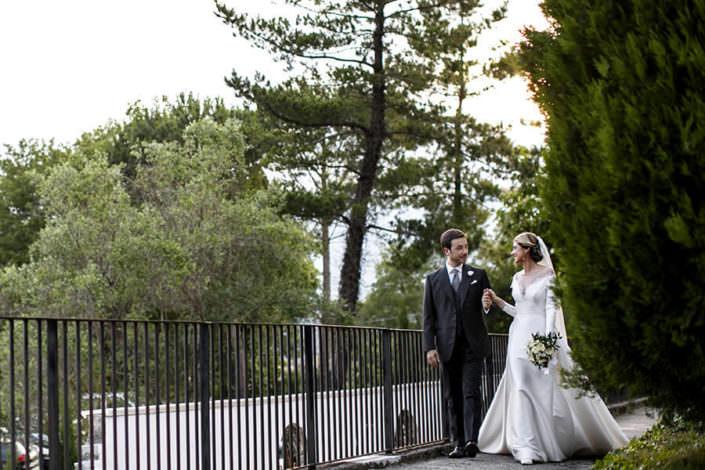 Matrimonio Villa Pietra Bianca ritratto sposi