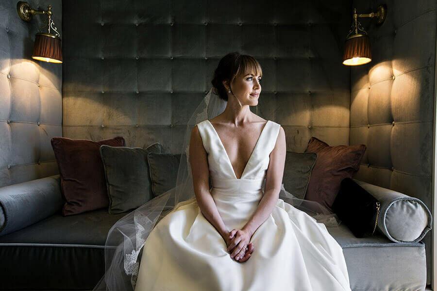 Fotografo Matrimonio Brindisi ritratto sposa