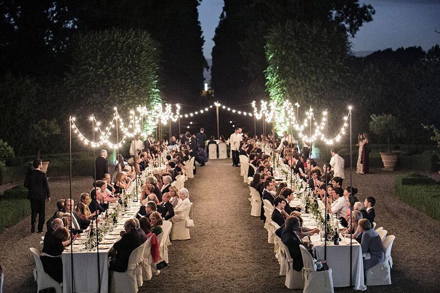 Fotografo Matrimonio Firenze cena