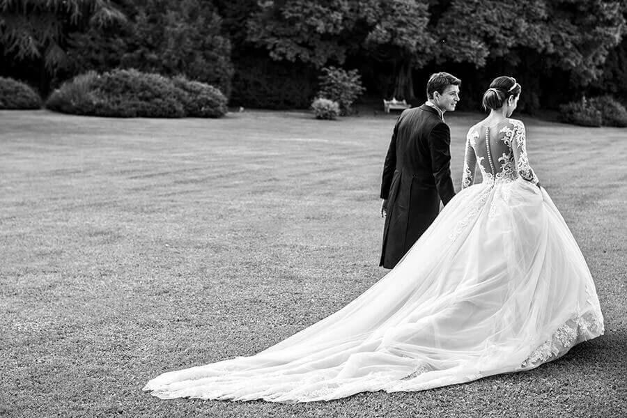 Fotografo Matrimonio Lago Maggiore ritratto bianco e nero