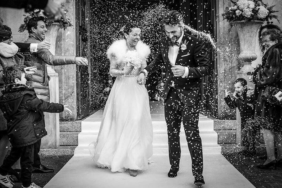 Fotografo Matrimonio Matera lancio del riso