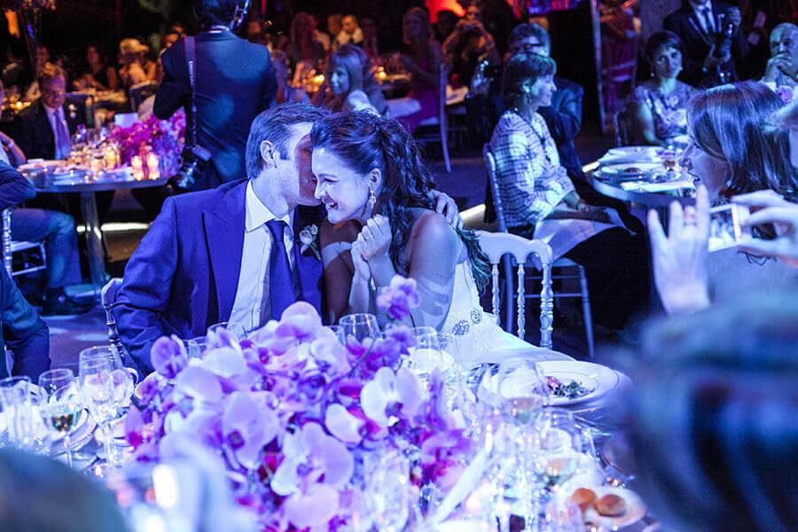 Fotografo Matrimonio Siena atmosfere a cena