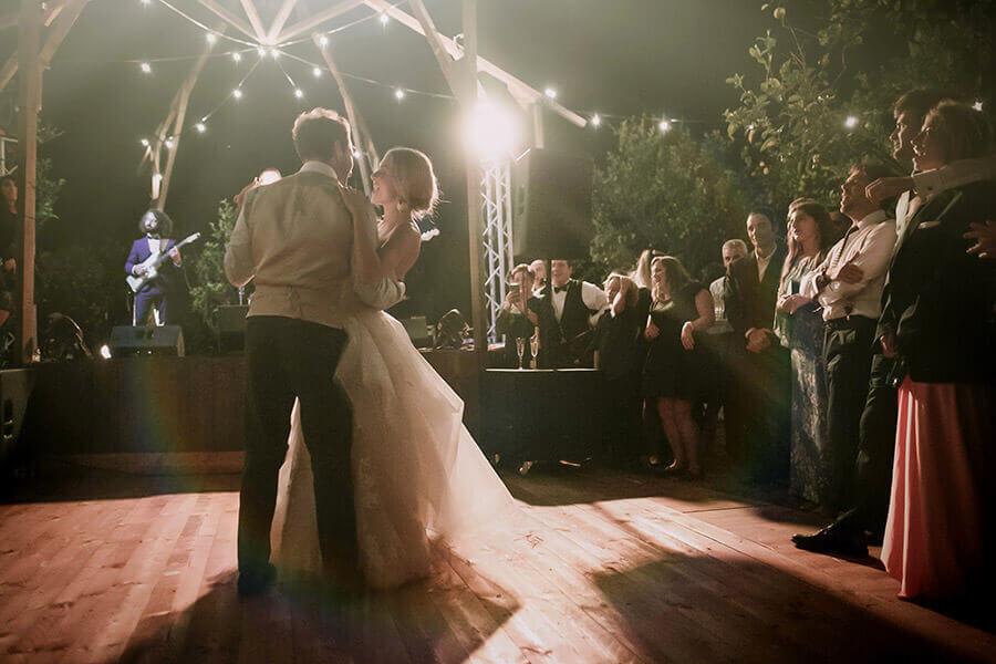 Fotografo Matrimonio Siena primo ballo