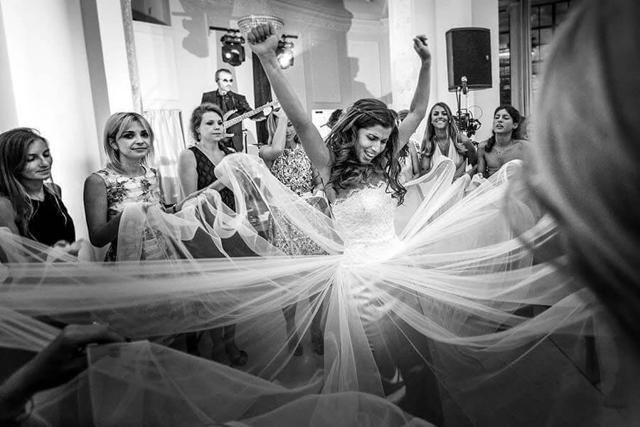 Fotoreporter Matrimonio Bianco e Nero